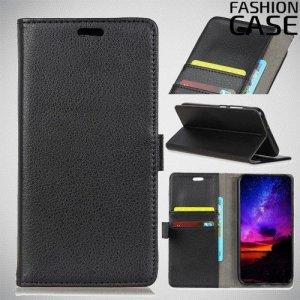 Flip Wallet чехол книжка для Huawei Honor 8A - Черный