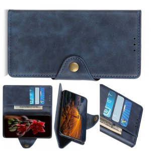Flip Wallet чехол книжка для Huawei Honor 9X / 9X Pro - Синий