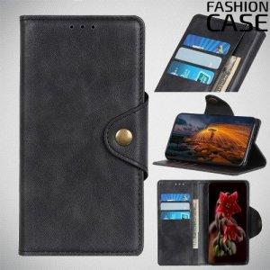 Flip Wallet чехол книжка для Huawei P Smart Z - Черный