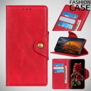 Flip Wallet чехол книжка для Huawei P Smart Z - Красный