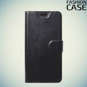 Flip Wallet чехол книжка для Huawei Y6 Prime 2018 / 7A Pro / 7C - Черный