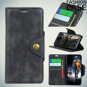 Flip Wallet чехол книжка для Huawei Y9 2019 - Черный
