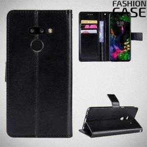 Flip Wallet чехол книжка для LG G8 ThinQ - Черный