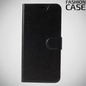 Flip Wallet чехол книжка для Motorola Moto G7 - Черный
