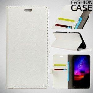 Flip Wallet чехол книжка для Motorola Moto G7 Play - Белый