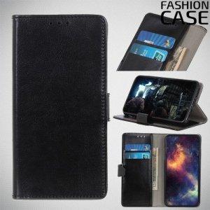 Flip Wallet чехол книжка для Nokia 1 Plus - Черный