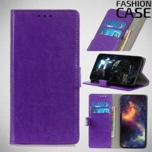 Flip Wallet чехол книжка для Nokia 1 Plus - Фиолетовый