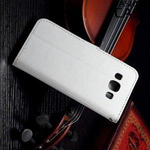 Flip Wallet чехол книжка для Samsung Galaxy A3 - Белый