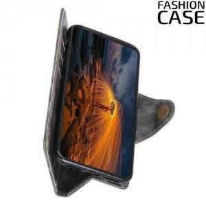 Flip Wallet чехол книжка для Samsung Galaxy A30 / A20 - Серый