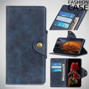 Flip Wallet чехол книжка для Samsung Galaxy A40 - Синий