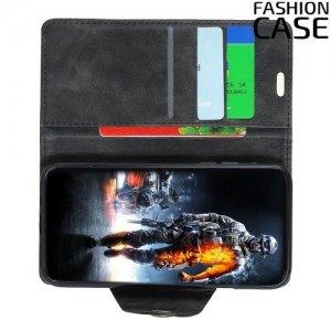 Flip Wallet чехол книжка для Sony Xperia XA3 Ultra - Черный