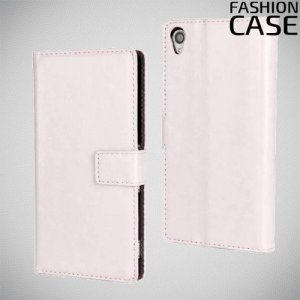 Flip Wallet чехол книжка для Sony Xperia Z3 - Белый