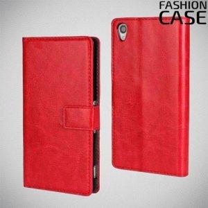 Flip Wallet чехол книжка для Sony Xperia Z3 - Красный