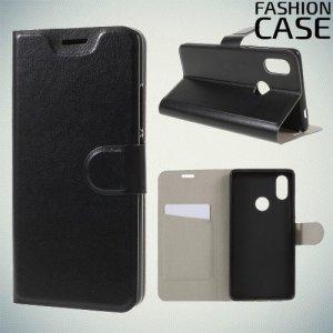 Flip Wallet чехол книжка для Xiaomi Mi 8 SE - Черный
