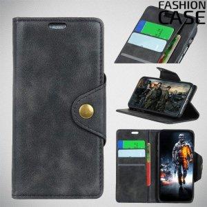 Flip Wallet чехол книжка для Xiaomi Mi Play - Черный