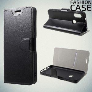 Flip Wallet чехол книжка для Xiaomi Redmi 6 Pro / Mi A2 Lite - Черный