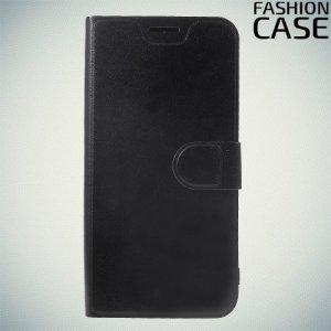 Flip Wallet чехол книжка для Xiaomi Redmi Note 6 / Note 6 Pro - Черный