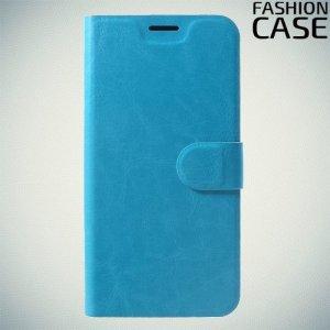 Flip Wallet чехол книжка для Xiaomi Redmi Note 6 / Note 6 Pro - Голубой