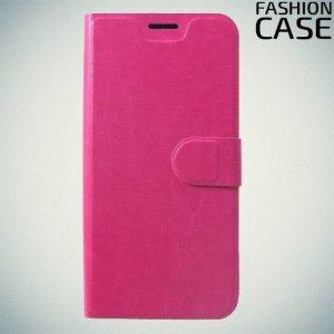 Flip Wallet чехол книжка для Xiaomi Redmi Note 6 / Note 6 Pro - Розовый