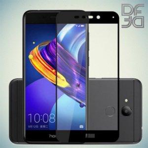 Full Glue Screen DF Защитное Закаленное Олеофобное Стекло для Huawei Honor 6C Pro черное