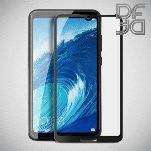 Full Glue Screen DF Защитное Закаленное Олеофобное Стекло для Huawei Honor 8A / Y6 2019 / 8A pro - черное