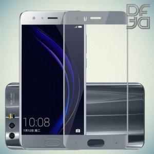 Full Glue Screen DF Защитное Закаленное Олеофобное Стекло для Huawei Honor 9 серое