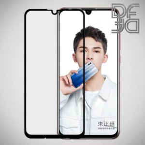 Full Glue Screen DF Защитное Закаленное Олеофобное Стекло для Huawei P Smart 2019 / Honor 10i / Honor 10 lite черное