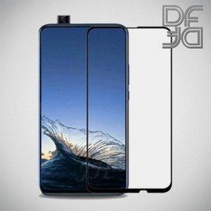 Full Glue Screen DF Защитное Закаленное Олеофобное Стекло для Huawei P Smart Z / Honor 9X черное
