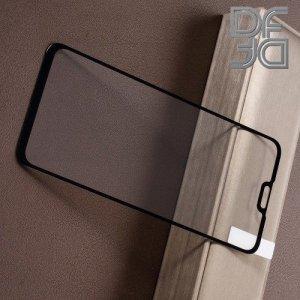Full Glue Screen DF Защитное Закаленное Олеофобное Стекло для Huawei Y9 2019 черное