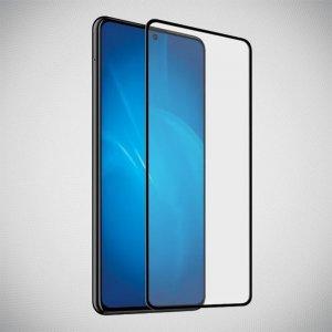 Full Glue Screen DF Защитное Закаленное Олеофобное Стекло для Samsung Galaxy A71 черное