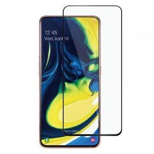 Full Glue Screen DF Защитное Закаленное Олеофобное Стекло для Samsung Galaxy A80 черное