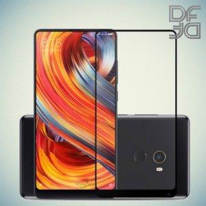 Full Glue Screen DF Защитное Закаленное Олеофобное Стекло для Xiaomi Mi Mix 2 черное