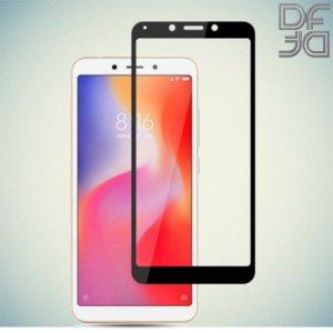 Full Glue Screen DF Защитное Закаленное Олеофобное Стекло для Xiaomi Redmi 6 / 6A черное