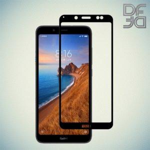 Full Glue Screen DF Защитное Закаленное Олеофобное Стекло для Xiaomi Redmi 7A черное