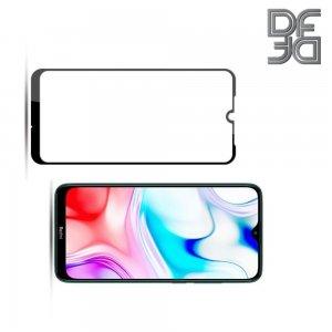 Full Glue Screen DF Защитное Закаленное Олеофобное Стекло для Xiaomi Redmi 8 / 8A черное