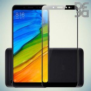Full Glue Screen DF Защитное Закаленное Олеофобное Стекло для Xiaomi Redmi Note 5  / 5 Pro черное