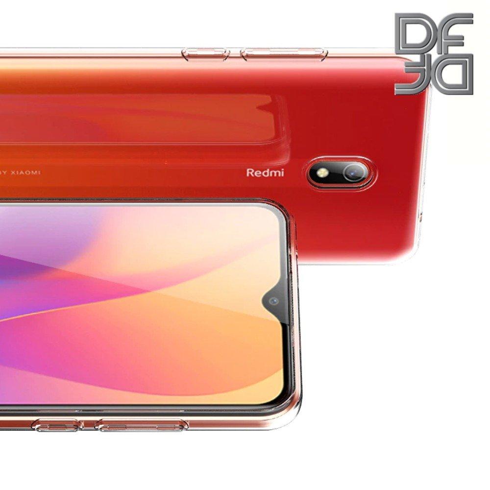 Ультратонкий силиконовый прозрачный чехол для Xiaomi Redmi 8A