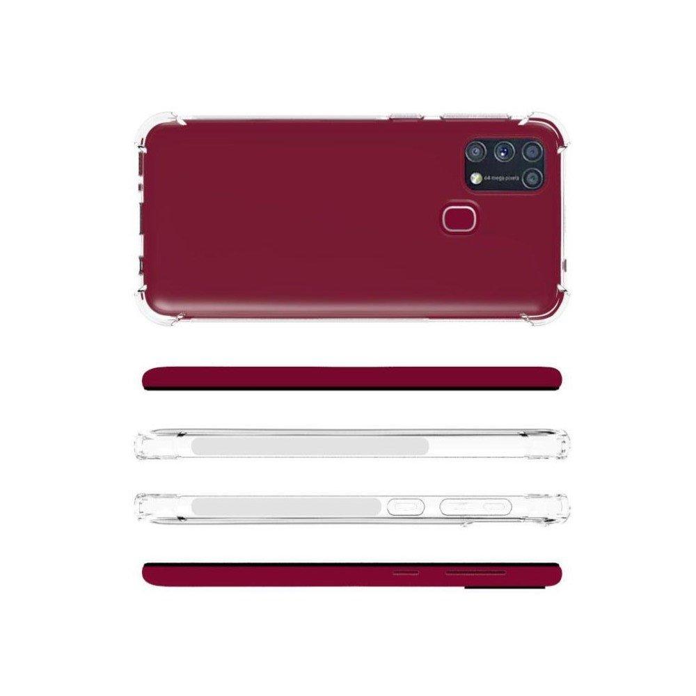 Spectrum прозрачный силиконовый чехол для Samsung Galaxy M31