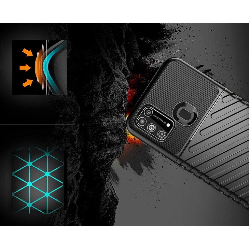 AirBags Case противоударный силиконовый чехол с усиленной защитой для Huawei P40 lite E Черный
