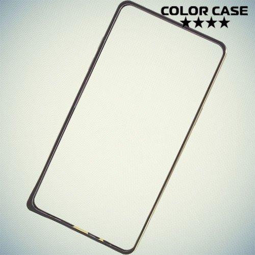 Алюминиевый металлический бампер для Samsung Galaxy A5 - черный