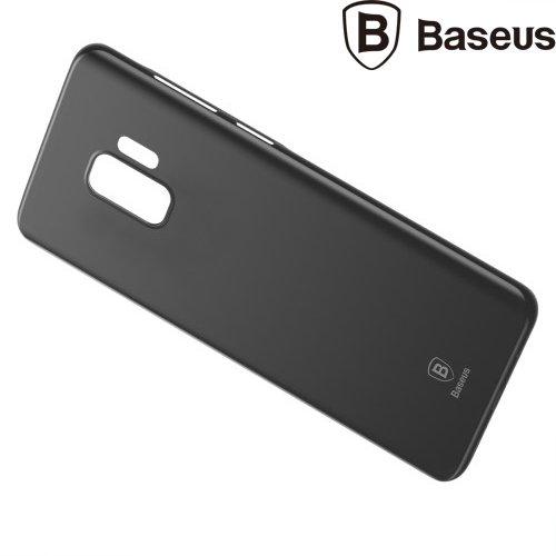 BASEUS Wing Thin Пластиковый тонкий матовый чехол для Samsung Galaxy S9 - Черный