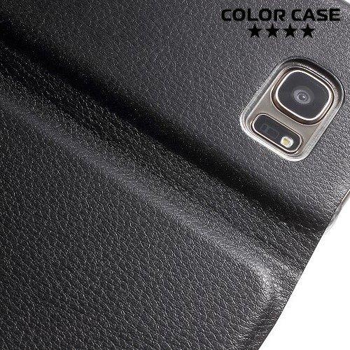 Чехол флип книжка для Samsung Galaxy S7 - Черный