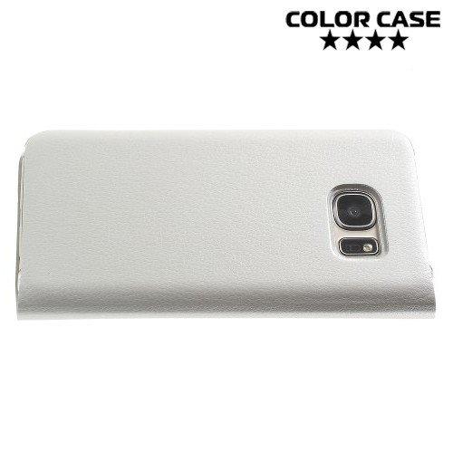Чехол флип книжка для Samsung Galaxy S7 - Белый