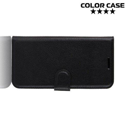 Чехол книжка для Asus Zenfone 6 ZS630KL - Черный