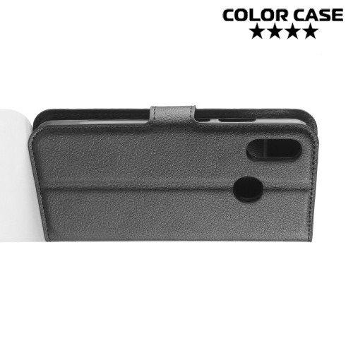 Чехол книжка для Huawei P30 Lite - Черный