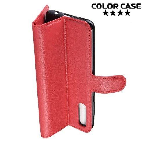 Чехол книжка для Samsung Galaxy A70 - Красный