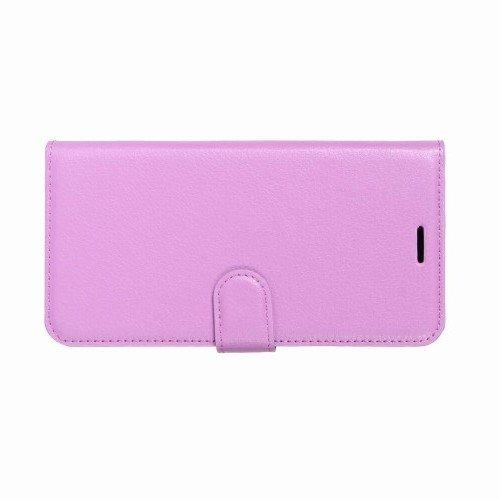 Чехол книжка для Samsung Galaxy A8 Plus 2018 - Фиолетовый