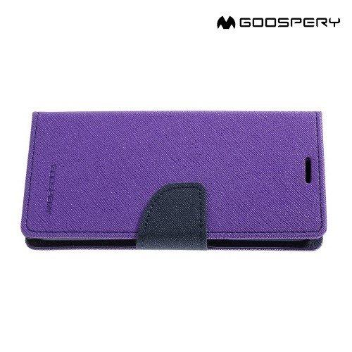 Чехол книжка для Samsung Galaxy S8 Mercury Goospery - Фиолетовый