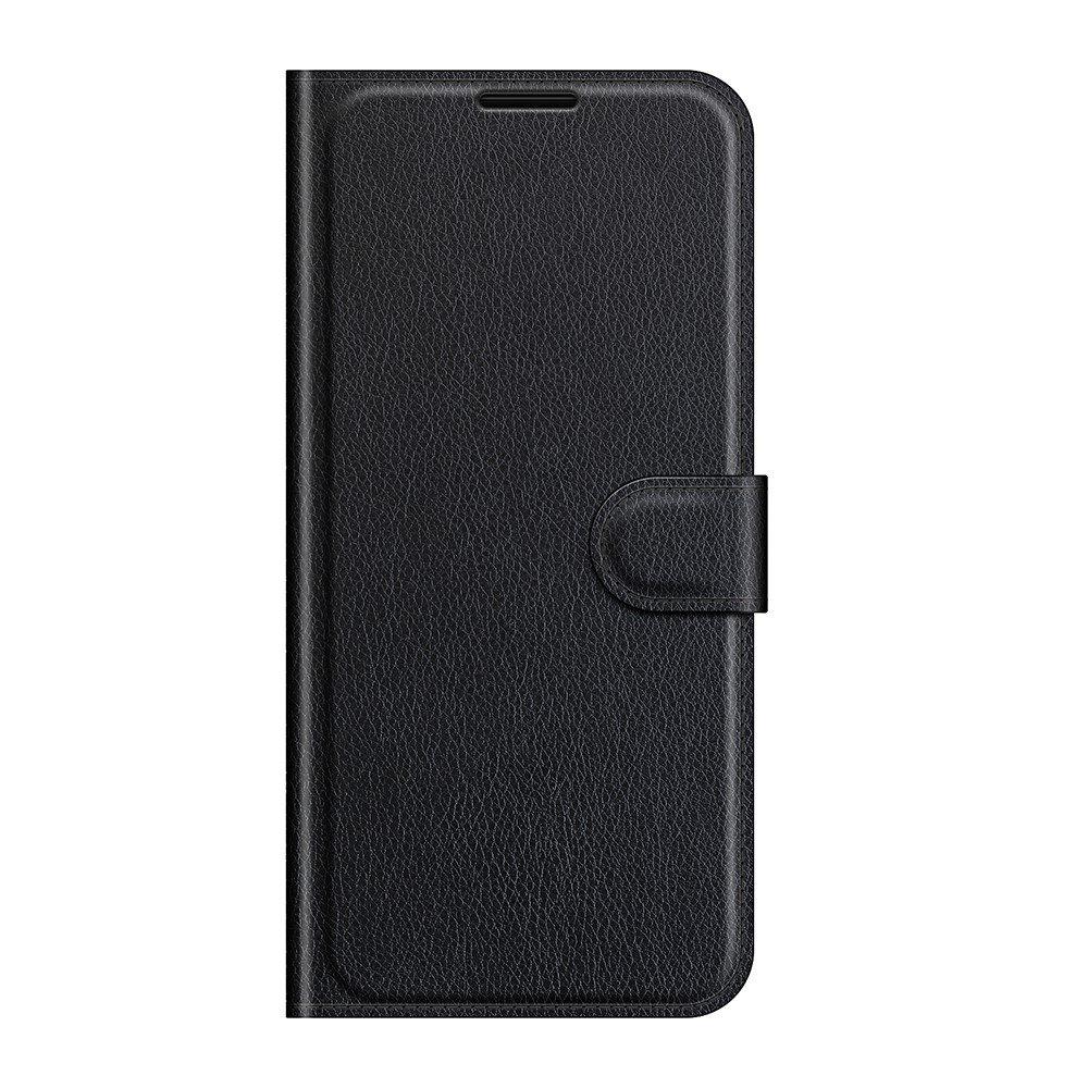 Чехол книжка для Xiaomi Mi 11 Lite отделения для карт и подставка Черный
