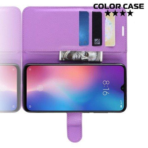 Чехол книжка для Xiaomi Mi 9 SE - Фиолетовый